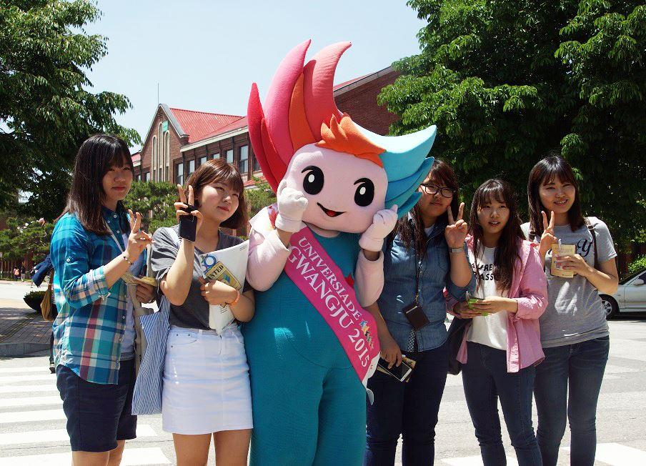 Gwangju 2015  Mascot